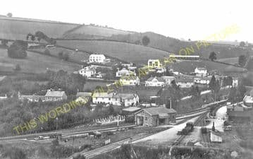 Bampton Railway Station Photo. Dulverton - Tiverton. GWR. (8)