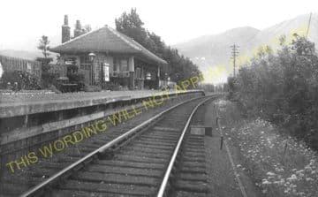 Banavie Railway Station Photo. Fort William - Corpach. Glenfinnan Line (5).