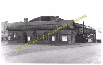 Banbury Merton Street Railway Station Photo. Farthinghoe and Brackley Line. (7)