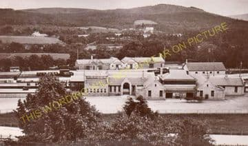 Banchory Railway Station Photo. Crathes - Glassel. Culter to Ballater Line. (11)