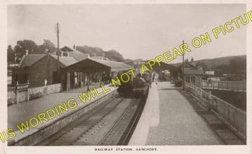 Banchory Railway Station Photo. Crathes - Glassel. Culter to Ballater Line. (8)