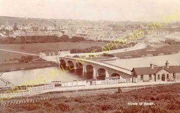 Banff Bridge Railway Station Photo. Macduff - King Edward. Plaidy Line. (3).