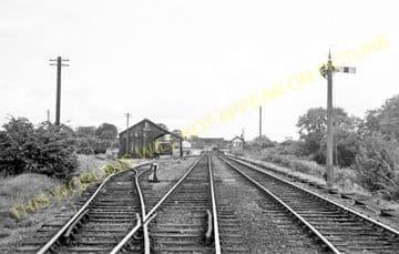Bangor-on-Dee Railway Station Photo. Marchwiel - Overton. Wrexham Line. (6)