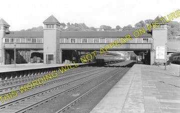 Bangor Railway Station Photo. Conway - Carnarvon. L&NWR. (1)