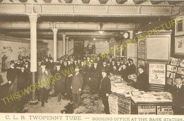 Bank Railway Station Photo. Central London Railway. London Underground (5)
