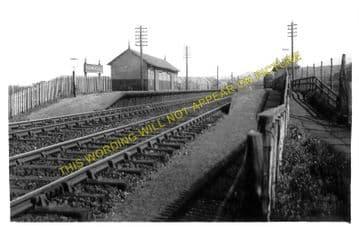 Bankhead Railway Station Photo. Bucksburn - Stoneywood. Aberdeen to Dyce. (1)..