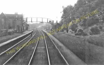 Bannockburn Railway Station Photo.  Stirling - Plean. Caledonian Railway. (1)..