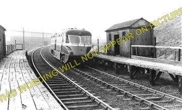 Baptist End Railway Station Photo. Netherton - Windmill End. Dudley Line. (1)