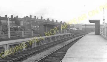 Baptist End Railway Station Photo. Netherton - Windmill End. Dudley Line. (2)