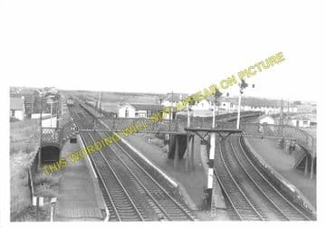 Barassie Railway Station Photo. Troon to Gailes and Drybridge Lines. (1)..