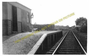 Barcaldine Railway Station Photo. Benderloch - Creagan. Appin Line. (2)