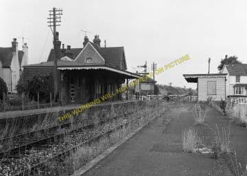Barcombe Mills Railway Station Photo. Lewes - Isfield. Uckfield Line. LBSCR (6)