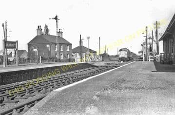 Bardney Railway Station Photo. Southrey to Five Mile House Line (17)