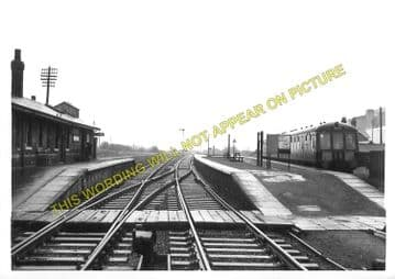 Bardney Railway Station Photo. Southrey to Five Mile House Line (3)