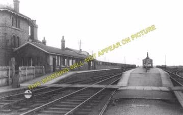 Bardney Railway Station Photo. Southrey to Five Mile House Line (4)