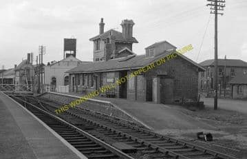 Bardney Railway Station Photo. Southrey to Five Mile House Line (5)