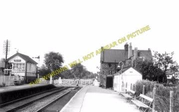 Bare Lane Railway Station Photo. Morecambe - Hest Bank. Carnforth Line.  (3)