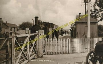 Bare Lane Railway Station Photo. Morecambe - Hest Bank. Carnforth Line.  (4)