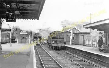 Bargoed Railway Station Photo. Pengham - Brithdir. Hengoed to Tredegar Line (8)