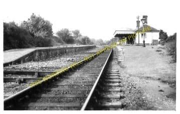 Barham Railway Station Photo. Bishopsbourne - Elham. Folkestone  Line (1)