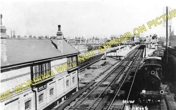 Barking Railway Station Photo. East Ham to Dagenham and Rainham Lines. LT&SR (1)..