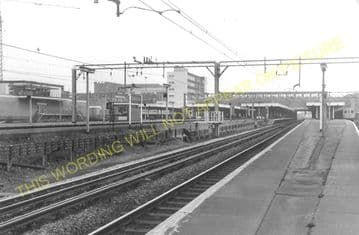 Barking Railway Station Photo. East Ham to Dagenham and Rainham Lines. LT&SR (10)
