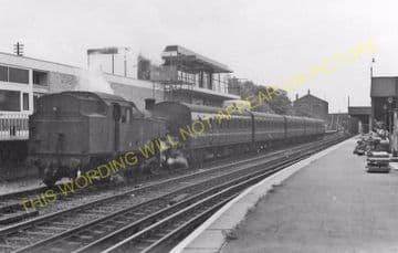Barking Railway Station Photo. East Ham to Dagenham and Rainham Lines. LT&SR (11)