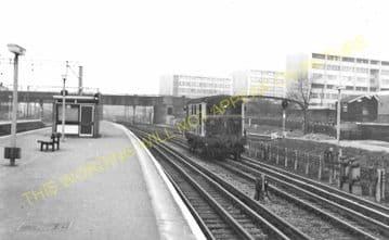 Barking Railway Station Photo. East Ham to Dagenham and Rainham Lines. LT&SR (12)