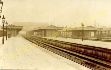 Barking Railway Station Photo. East Ham to Dagenham and Rainham Lines. LT&SR (13)