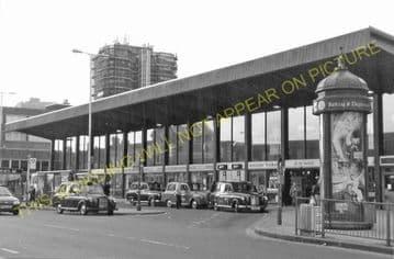 Barking Railway Station Photo. East Ham to Dagenham and Rainham Lines. LT&SR (14)
