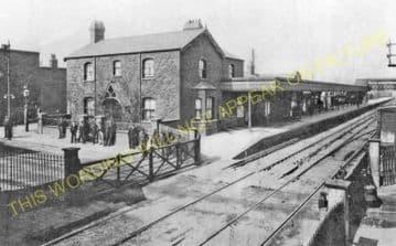 Barking Railway Station Photo. East Ham to Dagenham and Rainham Lines. LT&SR (15)