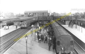 Barking Railway Station Photo. East Ham to Dagenham and Rainham Lines. LT&SR (2)