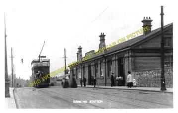 Barking Railway Station Photo. East Ham to Dagenham and Rainham Lines. LT&SR (3)