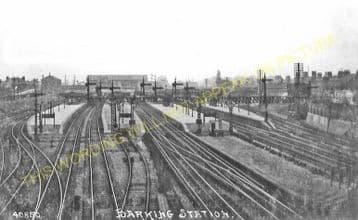 Barking Railway Station Photo. East Ham to Dagenham and Rainham Lines. LT&SR (4)