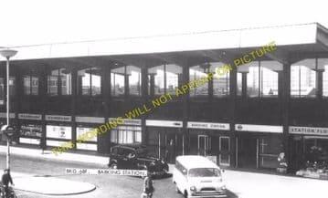 Barking Railway Station Photo. East Ham to Dagenham and Rainham Lines. LT&SR (5)
