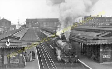 Barking Railway Station Photo. East Ham to Dagenham and Rainham Lines. LT&SR (8)