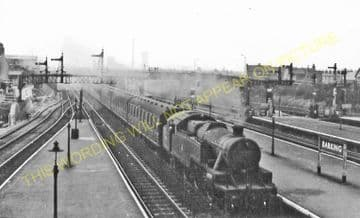 Barking Railway Station Photo. East Ham to Dagenham and Rainham Lines. LT&SR (9)