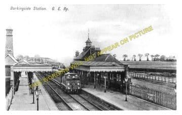 Barkingside Railway Station Photo.Fairlop - Newbury Park. Great Eastern Rly. (1)..