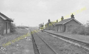 Barmby Railway Station Photo. Drax - South Howden. Hull & Barnsley Railway. (1).