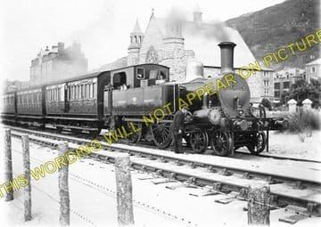 Barmouth Railway Station Photo. Fairbourne - Harlech. Cambrian Railway. (1)..