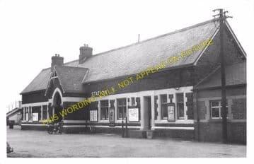 Barmouth Railway Station Photo. Fairbourne - Harlech. Cambrian Railway. (12)