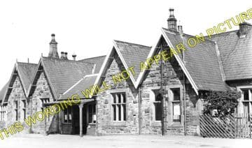 Barnard Castle Railway Station Photo. North Eastern Railway. (1)..