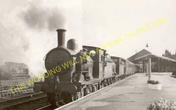 Barnard Castle Railway Station Photo. North Eastern Railway. (10)