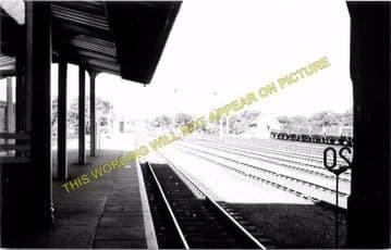 Barnard Castle Railway Station Photo. North Eastern Railway. (7)