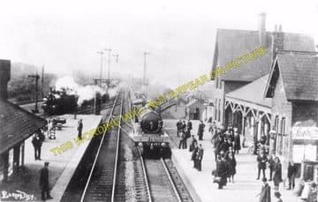 Barnetby Railway Station Photo. Brocklesby to Elsham, Brigg and Howsham. (10)