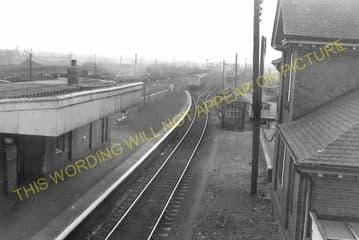 Barnetby Railway Station Photo. Brocklesby to Elsham, Brigg and Howsham. (16)