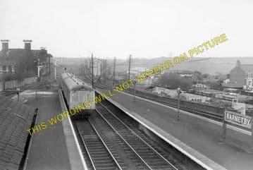 Barnetby Railway Station Photo. Brocklesby to Elsham, Brigg and Howsham. (4)