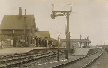 Barnetby Railway Station Photo. Brocklesby to Elsham, Brigg and Howsham. (5)
