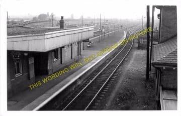 Barnetby Railway Station Photo. Brocklesby to Elsham, Brigg and Howsham. (6)