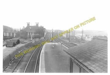 Barnetby Railway Station Photo. Brocklesby to Elsham, Brigg and Howsham. (9)